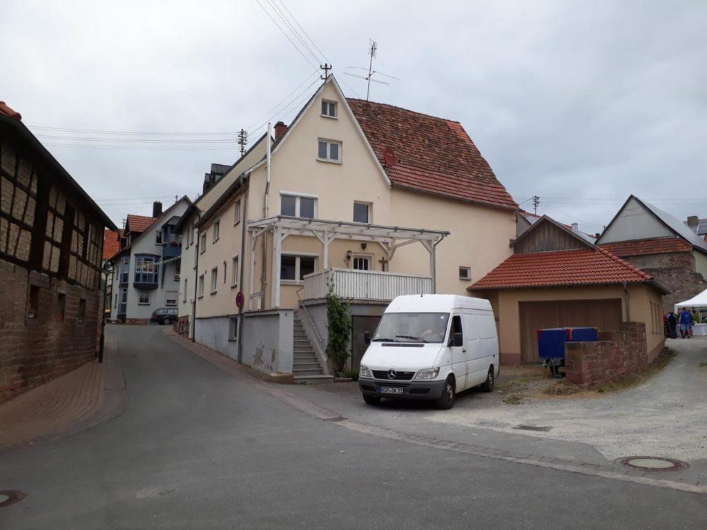 Haus in Külsheim vorher